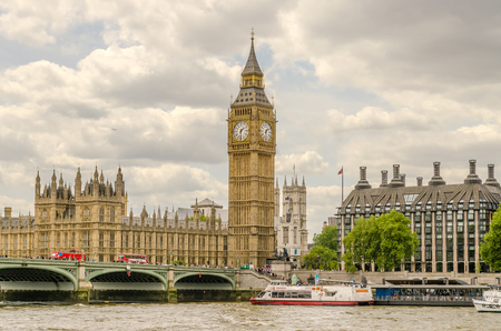 houses of parliament: Palace of Westminster, Houses of Parliament, London, UK