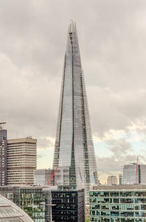 shard: Shard London Bridge, Iconic Skyscraper in the London Skyline, UK