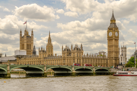 Palais de Westminster, Houses of Parliament, Londres, Royaume-Uni