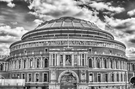 kensington: The Royal Albert Hall, in South Kensington, London, UK