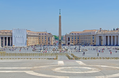 st  peter's square: St. Peters Square in Vatican City, Rome, Italy