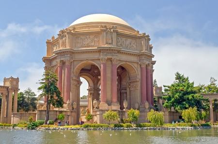 exploratory: The Palace of Fine Arts in San Francisco, California, USA