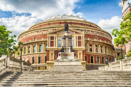 De Royal Albert Hall, in South Kensington, Londen, VK