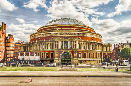 The Royal Albert Hall, in South Kensington, London, UK
