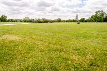 hyde: Hyde Park, London, UK Stock Photo