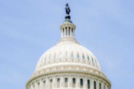 capitol building: Defocused background of the United States Capitol building, Washington DC, USA. Intentionally blurred post production for bokeh effect