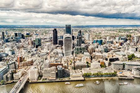 financial district: London City Skyline, Modern Skyscrapers in London financial district