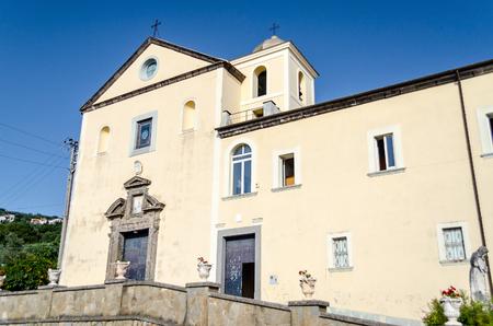 massa: Church of San Francesco di Paola, Massa Lubrense, Italy