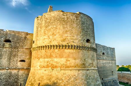 bastion: Bastion of the Otranto Castle, Salento, Apulia, Italy Editorial
