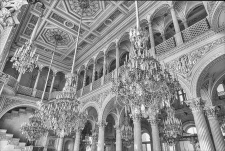 ST. PETERSBURG, RUSSIE - 27 AOÛT: pavillon Hall, Hermitage Museum à Saint-Pétersbourg, Russie, 27 août 2016. L'ermitage est l'un des plus grands et les plus anciens musées d'art et de culture au monde Éditoriale