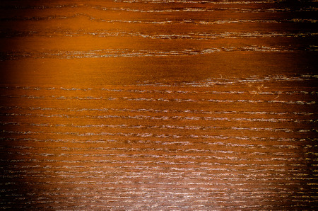 Wooden brown texture, used for background, photo with vignette effect