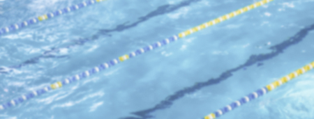 Defocused background with aerial view of a swimming pool with dividers. Intentionally blurred post production for bokeh effect Stockfoto