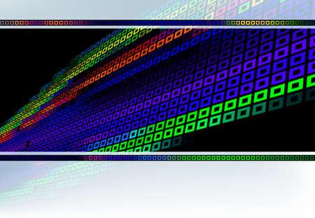 Scientific color background Vector