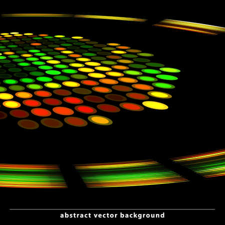 Abstract flayer layout for disco party.  Vector