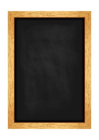 Lavagna di menu per caffè e ristoranti. Struttura in legno realistico. Illustrazione vettoriale Archivio Fotografico - 46363800