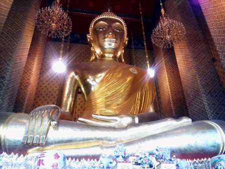 Buddha statue in the temple Thailand