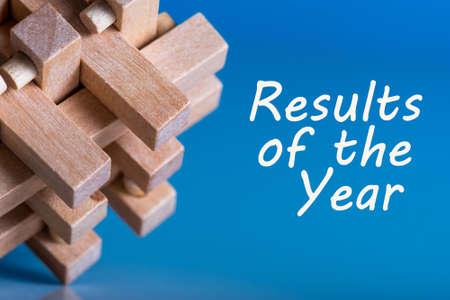 Resultaten van het jaar. 2017 beoordeling. Tijd om doelen voor het volgende jaar samen te vatten en te plannen. Business achtergrond