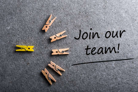 Join our team. Job offer, Hiring and new job concept