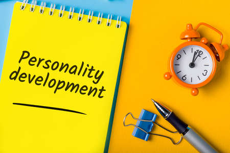 Personality development - Motivation for growth and education, advanced training