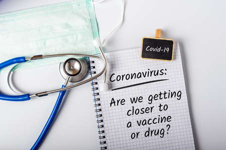 Are we getting closer to a vaccine or drug of Coronavirus Covid-19. Vaccines and syringes concept
