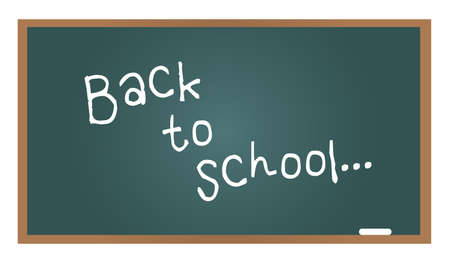 School blackboard back to school Vector