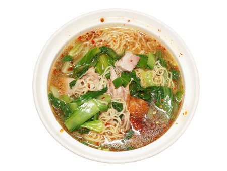 chiness: spicy chiness noodle with grilled duck