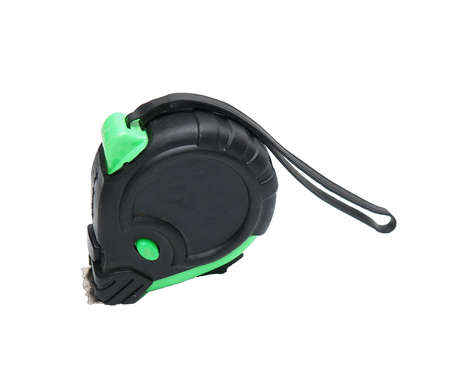 black and green tape measure Stock Photo - 17693012