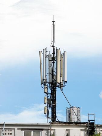 telecoms: Telecoms Aatenna sul tetto dell'edificio