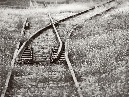 shunt: railway shunt, monotone color