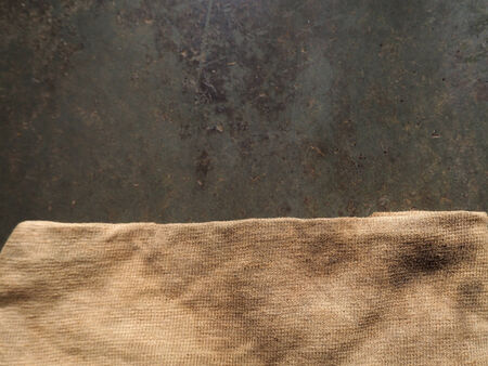 part of fabric textile on background