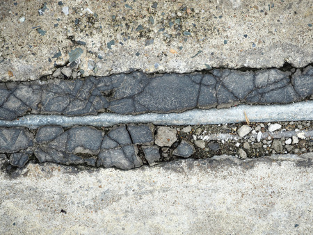 crack pipe: crack concrete floor with corroded pipe texture background