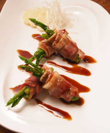 wrapped: Bacon Wrapped Grilled Asparagus