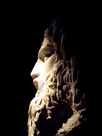 savant: Statue of Zeus Stock Photo