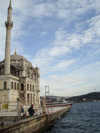 constantinople ancient: The Ortakoy Mosque