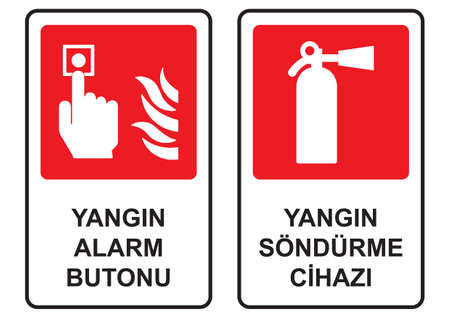 wastage: Occupational Safety and Health Signs Illustration