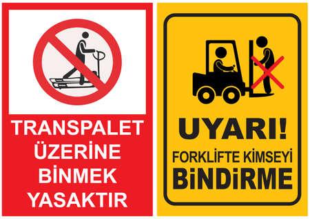 ocupacional: Se�ales de Seguridad y Salud Ocupacional Vectores