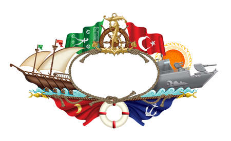 galley: Turkish Maritime Icons