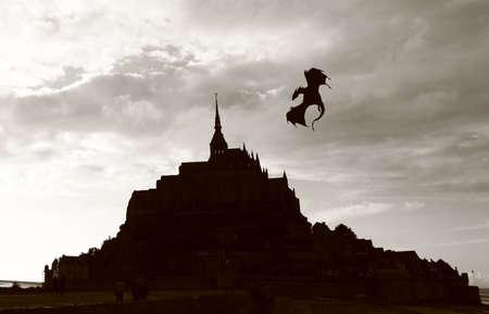 st michel: a photo of Mont St. Michel