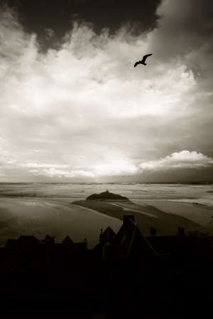 michel: a photo of Mont St. Michel