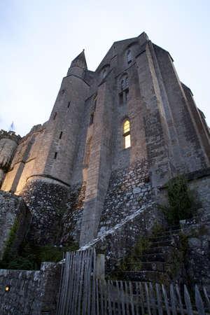 st michel: a beautiful photo of Mont st. Michel Stock Photo