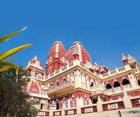 Laxmi Narayan temple or birla madir at blue sky in new delhi, India. Stock Photo - 12502529