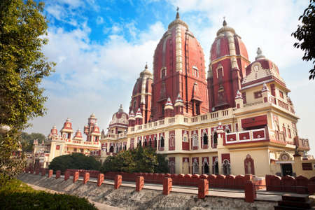 Laxmi Narayan temple or birla madir in new delhi, India photo