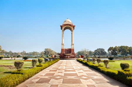 Monument near Indian Gate, New Delhi, India photo