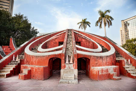new delhi: Jantar Mantar observatory in New Delhi, India