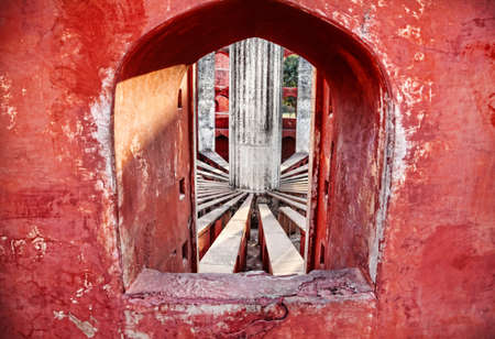 Jantar Mantar observatory in New Delhi, India photo