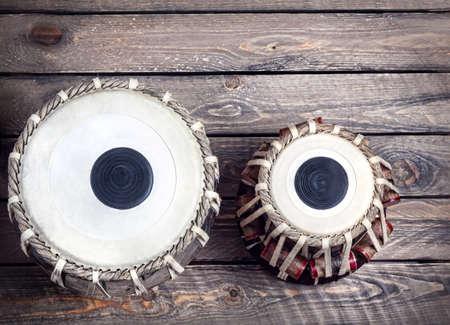 musica clasica: Tabla tambores indio instrumento de música clásica de cerca
