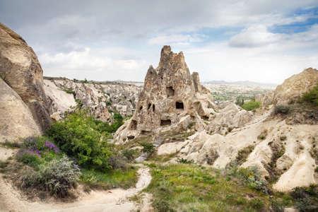 goreme: Ancient Church in the rock in Goreme open air Museum in Cappadocia, Turkey
