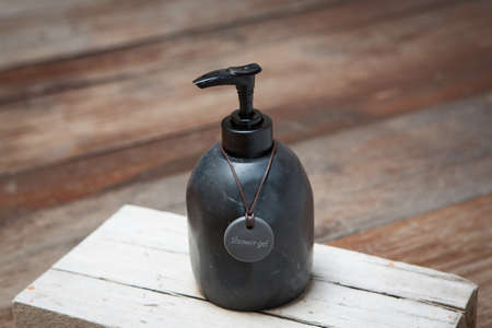 liquid soap, gel, shampoo Stock Photo