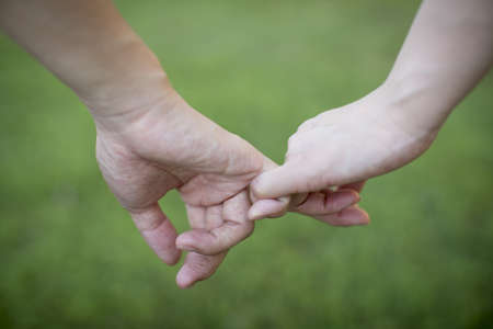 Holding hands Stock Photo - 18013990