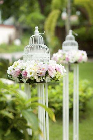 Hochzeit Kerze Standard-Bild - 18774349
